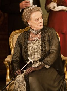 Dowager Countess of Grantham, Violet, continues to expect the same unforgiving standards, but is aware that the world is changing and the family must look to protecting its kingdom in the new century. Having once encouraged Edith's meetings with Anthony Strallan, she now believes his disability and age make him an undesirable match. The arrival of Martha Levinson, with her plain-spoken observations about where the world is headed, sets Violet's teeth on edge.     Played by Maggie Smith