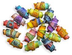 Rolled beads on PCDa