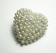 Vintage 1940's Pearl Brooch and Earrings from jewelry by NaLa http://www.etsy.com/listing/95283495/vintage-1940s-pearl-brooch-earrings #jewelry #vintage #fashion #style #pearl #products