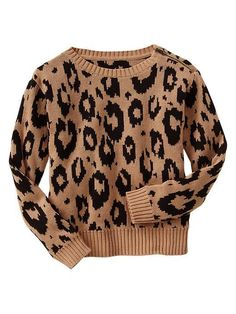 A leopard print sweater to consider