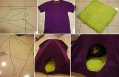 DIY cat home-i bet cats would love this!