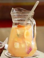 Ingrid Hoffman's Summer Fiesta: Tequila Sunrise Punch - Beauty Style - Health.com