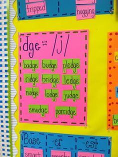 Life in First Grade: word work