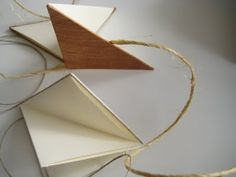 triangle fold books