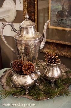 Display our tea set.