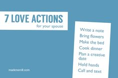 7 love actions to show your spouse #marriage #marriageadvice #loveactions