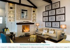Kirkland's Casual Chic Living Room