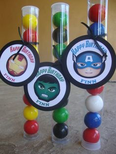 party favors, birthday parti, aveng birthday, parties, birthday idea, aveng parti, parti favor, parti idea, avenger party