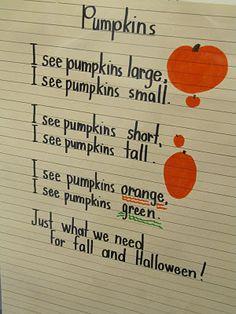 pumpkin poem