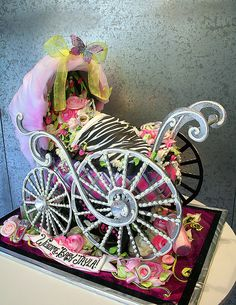 Ultimate Wild Baby Carriage Cake!