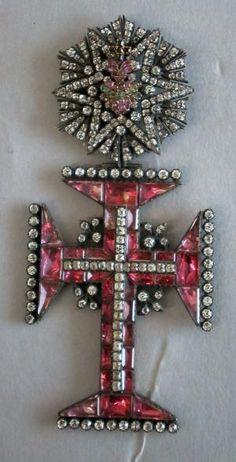 Croix de lordre du Christ | Centre de documentation des musées - Les Arts Décoratifs