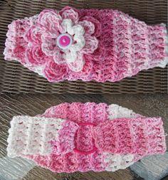 Crochet Patterns by Jennifer: Classic Stretch Headband - Free Crochet Pattern