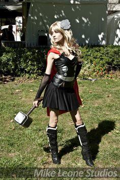 Lady Thor by RAWRenu.deviantart.com on @deviantART
