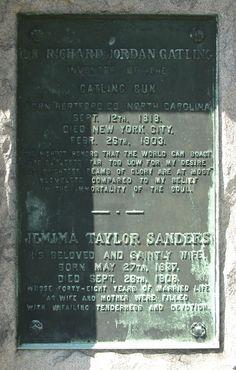 Richard Gatling Gravesite