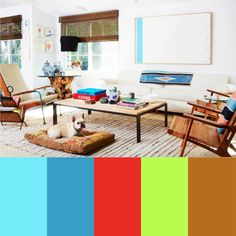 Colorful Interior Design Photographed by Justin Coit
