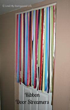 Ribbon Door Streamers