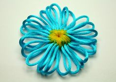 Loomed Flower Tutorial