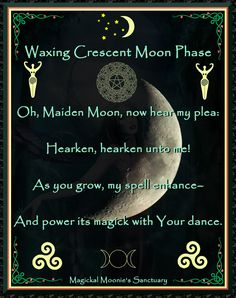 Moon Phase, Magickal Moonie's Sanctuary