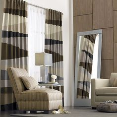 Living room curtains, Crate and Barrel.  Perfect!