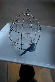 Cute birdcage!