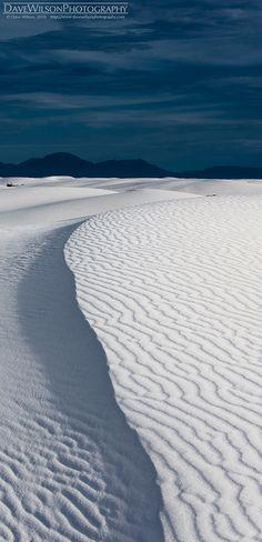 Rippled Ridge, White Sands National Park, New Mexico | David Wilson Photography