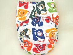 OS Mom Label Bamboo - Kawaii Baby Diapers
