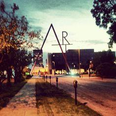 CCAD at dusk