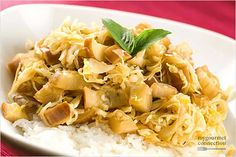 Thai Fried Cabbage a