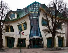 ... crooked house design in a shopping center in Sopot, Poland ... by Szotyńscy & Zaleski