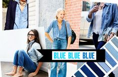 OH MY DIOR | TOP FASHION BLOG: Spring Summer 2015 Trends-Blue Blue Blue-Denim and more denim-navy colors everything blue
