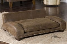 Designed by Matthew Williams, an Uttermost Rugby Pet Bed