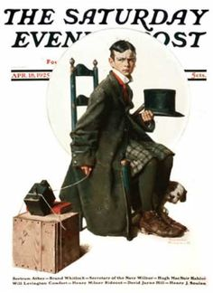 Saturday Evening Post - 1925-04-18 (Norman Rockwell)