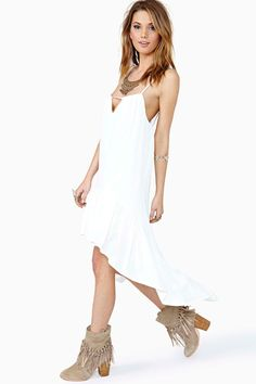 Wandering Ways Dress - Ivory