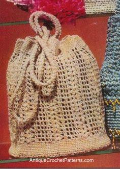 Vintage Roll Brim Bag