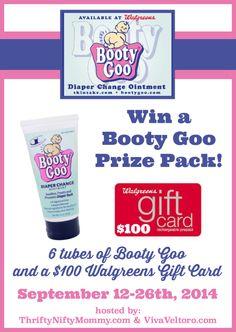 Booty Goo & a $100 Walgreens Gift Card Giveaway - Viva Veltoro