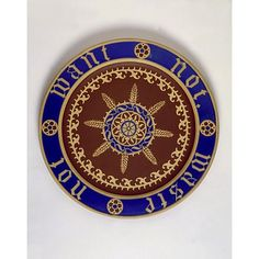 Pugin certainly had something to say about this! Waste Not Want Not plate from the great exhibition 1851