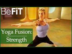 Yoga Fusion Strength & Balance Workout: Beginners Basics - YouTube