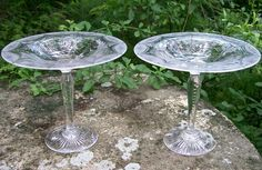 "250.00 each Pairpoint ""Wickham"" Compote / Comport"