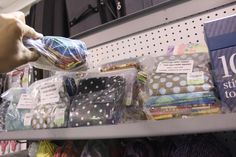 Fat quarter fabric bundles for $3.99 at #TuesdayMorning! #seektheunique