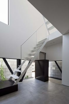 Stairs at ST-House, Tokyo by PANDA