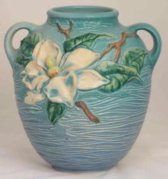 Roseville Pottery  - Experimental - Southern Magnolia - #AAPA