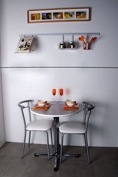 Mesa o barra on pinterest ideas para green chairs and - Cocinas muy pequenas ...