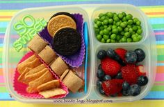 PB&J Roll-ups packed for a yummy school lunch! | with @EasyLunchboxes containers