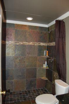 Bathroom redo - shower surround