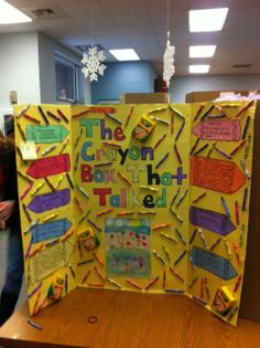 Reading Fair Projects-Loved this one!!!