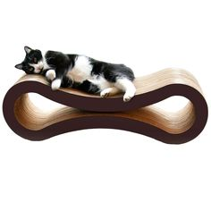 This is a great way to have a kitty scratcher, but in a modern, decor friendly way. $45