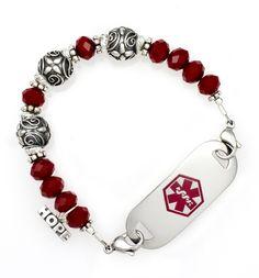 Duchess Medical ID Bracelet #laurenshope