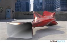 From Peter Donders (Belgium): Tube Bench by Designer Peter Donders bench