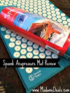 Spoonk Acupressure Mat Review #Sleep #relax #acupressure