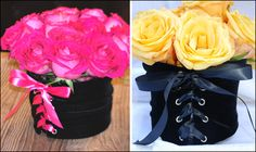 """corset"" centerpieces for a bridal shower or bachelorette party"